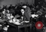 Image of Screen writer Morrie Ryskind testifies at HUAC hearing Washington DC USA, 1947, second 8 stock footage video 65675026584