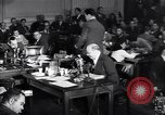 Image of Screen writer Morrie Ryskind testifies at HUAC hearing Washington DC USA, 1947, second 9 stock footage video 65675026584