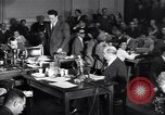 Image of Screen writer Morrie Ryskind testifies at HUAC hearing Washington DC USA, 1947, second 11 stock footage video 65675026584