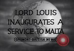 Image of Louis Mountbatten London England United Kingdom, 1943, second 5 stock footage video 65675026594