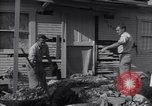 Image of damage to house United States USA, 1947, second 1 stock footage video 65675026597