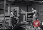 Image of damage to house United States USA, 1947, second 2 stock footage video 65675026597