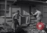 Image of damage to house United States USA, 1947, second 3 stock footage video 65675026597