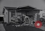 Image of damage to house United States USA, 1947, second 6 stock footage video 65675026597