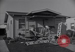 Image of damage to house United States USA, 1947, second 7 stock footage video 65675026597