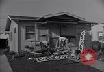 Image of damage to house United States USA, 1947, second 8 stock footage video 65675026597
