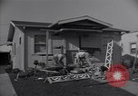 Image of damage to house United States USA, 1947, second 9 stock footage video 65675026597