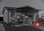 Image of damage to house United States USA, 1947, second 10 stock footage video 65675026597