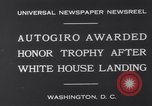 Image of Plane Autogyro Washington DC USA, 1931, second 3 stock footage video 65675026600