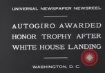 Image of Plane Autogyro Washington DC USA, 1931, second 5 stock footage video 65675026600
