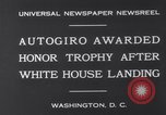 Image of Plane Autogyro Washington DC USA, 1931, second 6 stock footage video 65675026600
