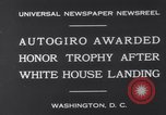Image of Plane Autogyro Washington DC USA, 1931, second 7 stock footage video 65675026600