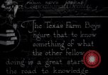 Image of Texas farm boys tour agriculture in other states United States USA, 1920, second 12 stock footage video 65675026607
