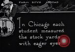 Image of Texas farm boys visit Chicago Stockyards United States USA, 1920, second 2 stock footage video 65675026609
