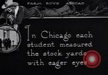 Image of Texas farm boys visit Chicago Stockyards United States USA, 1920, second 3 stock footage video 65675026609