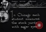 Image of Texas farm boys visit Chicago Stockyards United States USA, 1920, second 4 stock footage video 65675026609