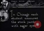 Image of Texas farm boys visit Chicago Stockyards United States USA, 1920, second 5 stock footage video 65675026609
