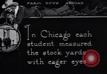Image of Texas farm boys visit Chicago Stockyards United States USA, 1920, second 7 stock footage video 65675026609