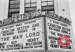 Image of World Premier of movie The War Lord Detroit Michigan, 1965, second 2 stock footage video 65675026620