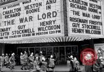 Image of World Premier of movie The War Lord Detroit Michigan, 1965, second 4 stock footage video 65675026620