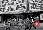 Image of World Premier of movie The War Lord Detroit Michigan, 1965, second 5 stock footage video 65675026620