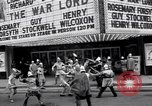 Image of World Premier of movie The War Lord Detroit Michigan, 1965, second 6 stock footage video 65675026620