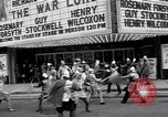 Image of World Premier of movie The War Lord Detroit Michigan, 1965, second 7 stock footage video 65675026620