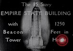 Image of Empire State Building New York United States USA, 1930, second 7 stock footage video 65675026625