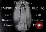Image of Empire State Building New York United States USA, 1930, second 9 stock footage video 65675026625
