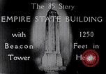 Image of Empire State Building New York United States USA, 1930, second 10 stock footage video 65675026625