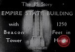Image of Empire State Building New York United States USA, 1930, second 11 stock footage video 65675026625