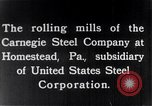 Image of metal beam construction Pennsylvania United States USA, 1930, second 11 stock footage video 65675026626