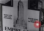 Image of Empire State Building New York United States USA, 1930, second 2 stock footage video 65675026636