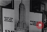 Image of Empire State Building New York United States USA, 1930, second 3 stock footage video 65675026636