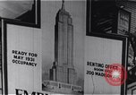 Image of Empire State Building New York United States USA, 1930, second 9 stock footage video 65675026636