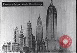 Image of Empire State Building New York United States USA, 1930, second 9 stock footage video 65675026651