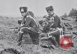 Image of Prussian Crown Prince Friederick Wilhelm on horseback Prussia, 1914, second 8 stock footage video 65675026652