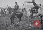 Image of Prussian Crown Prince Friederick Wilhelm on horseback Prussia, 1914, second 11 stock footage video 65675026652