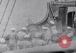 Image of SMS Möwe sinks the British Steamer Georgic in World War I Atlantic Ocean, 1916, second 5 stock footage video 65675026653