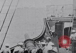 Image of SMS Möwe sinks the British Steamer Georgic in World War I Atlantic Ocean, 1916, second 9 stock footage video 65675026653