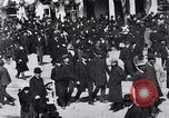 Image of crowd in city United States USA, 1908, second 7 stock footage video 65675026657
