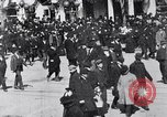 Image of crowd in city United States USA, 1908, second 9 stock footage video 65675026657