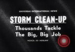 Image of snow storm United States USA, 1964, second 1 stock footage video 65675026686
