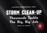 Image of snow storm United States USA, 1964, second 2 stock footage video 65675026686
