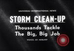 Image of snow storm United States USA, 1964, second 5 stock footage video 65675026686