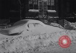Image of snow storm United States USA, 1964, second 9 stock footage video 65675026686