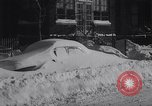 Image of snow storm United States USA, 1964, second 10 stock footage video 65675026686