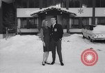 Image of winter fashion Vermont United States USA, 1964, second 8 stock footage video 65675026688