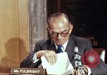 Image of William J Fulbright Washington DC USA, 1969, second 1 stock footage video 65675026724