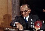 Image of William J Fulbright Washington DC USA, 1969, second 2 stock footage video 65675026724